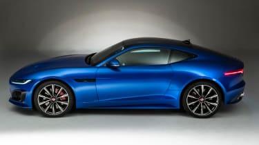 Jaguar F-Type - side static
