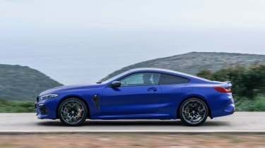 BMW M8 Competition - side