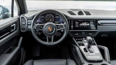 Porsche Cayenne E-Hybrid - dash
