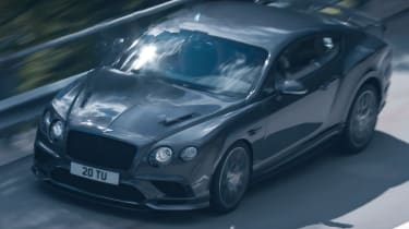 Bentley Continental GT Supersports 2017 - video overhead