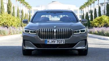 BMW 750i - full front