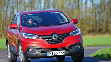 Renault Kadjar - long term front cornering