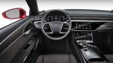 New Audi A8 - steering wheel