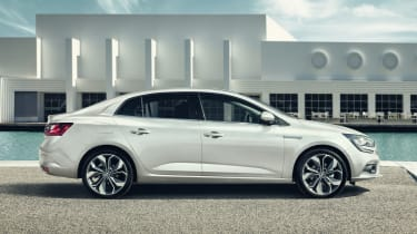 New Renault Megane Grand Coupe - side