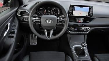 Hyundai i30 N Line steering wheel