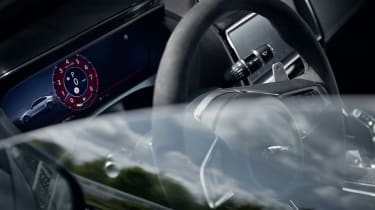 Jaguar XE SV Project 8 - steering wheel