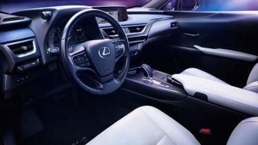Lexus UX 300e - dash