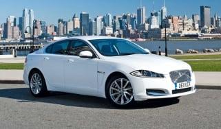Jaguar XF in the US