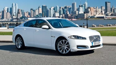 Jaguar XF in the US
