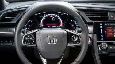Honda Civic - steering wheel