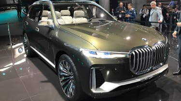 BMW X7 Concept - Frankfurt front