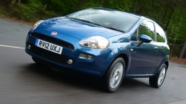 Fiat Punto front tracking