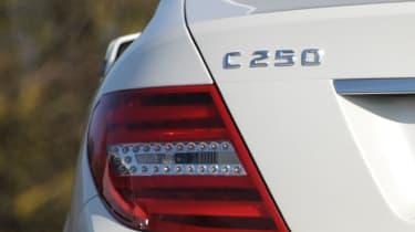 Mercedes C220 CDI Sport badge