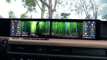 Honda e - interior