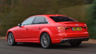 Audi S4 - rear