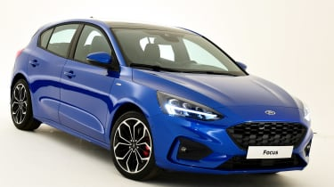 New Ford Focus S-Line studio - front static
