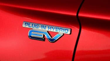 Mitsubishi Outlander PHEV - EV badge