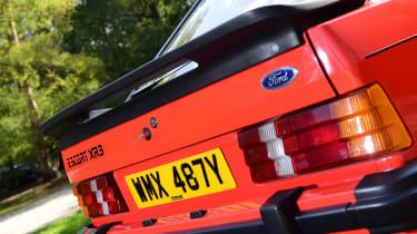 Ford Escort XR3 - rear detail