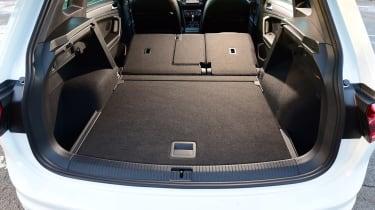 Volkswagen Tiguan - boot seats down