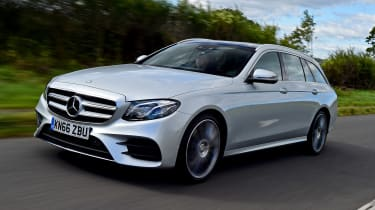 Mercedes E-Class Estate - front