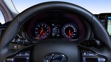 Hyundai i30 N dials