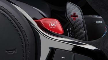 BMW M5 CS - M button