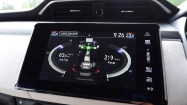 Honda Clarity - infotainment