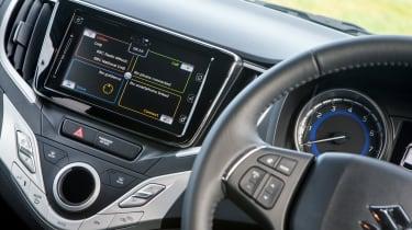 Suzuki Baleno SVHS mild hybrid - infotainment