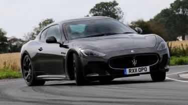 Maserati GranTurismo MC Stradale front tracking