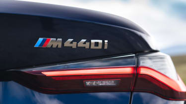 BMW M440i Convertible - rear badge