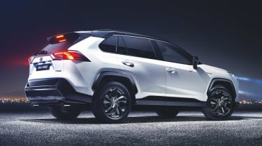 New Toyota RAV4 - rear