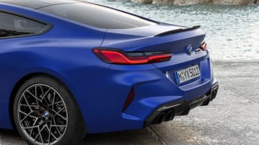 BMW M8 Competition - rear detail