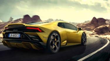 Lamborghini Huracan EVO RWD - rear tracking