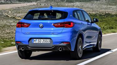 2018 BMW X2 - rear