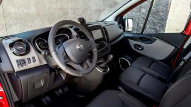 Nissan NV300 van interior