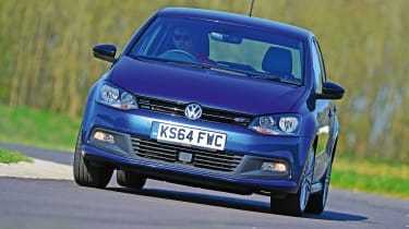 VW Polo BlueGT - front action