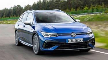 Volkswagen Golf R Estate - front action