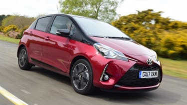 Used Toyota Yaris - front action