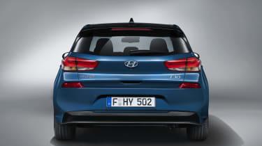 Hyundai i30 2017 - rear end studio