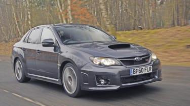 Subaru WRX STi front track