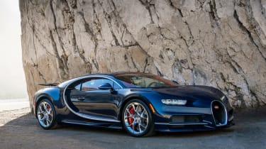 Bugatti Chiron - The Quail front quarter
