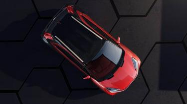 Toyota Aygo X prototype - above