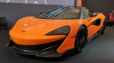 McLaren 600LT front quarter