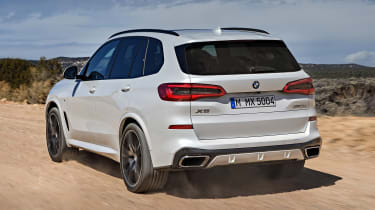 BMW X5 - rear tracking