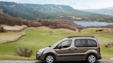 Citroen Berlingo Multispace 2015 side