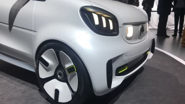 Smart ForEase concept - front detail