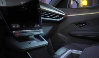 Renault Megane E-Tech Electric - cabin teaser