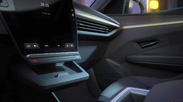Renault Megane E-Tech Electric - cabin teaser