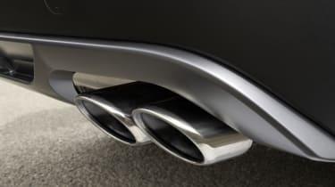 Hyundai Tucson N Line - exhaust