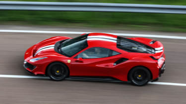 Ferrari 488 Pista - above
